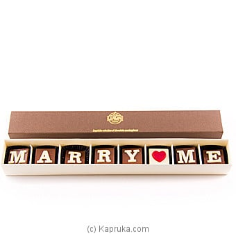 Java `marry Me` 8 Piece Chocolate Box Online at Kapruka | Product# chocolates00692