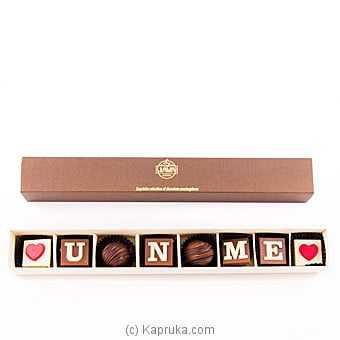 Java ` You And Me ` 8 Piece Chocolate Box Online at Kapruka | Product# chocolates00699