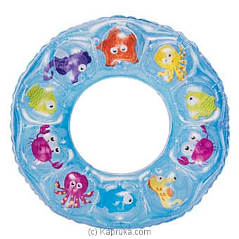 Inflatable Children Swim Ring- Blue Online at Kapruka | Product# kidstoy0Z777
