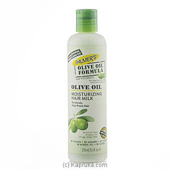 Palmer`s Olive Oil Moisturizing Hair Milk 250ml Online at Kapruka | Product# cosmetics00353