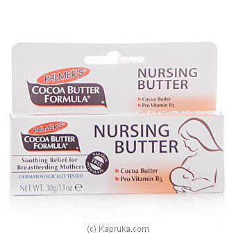 Palmer`s Cocoa Butter Formula Nursing Butter Cream 30g at Kapruka Online for specialGifts