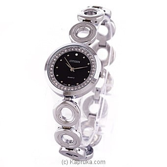 Silver Citizen Ladies Watch With Crystal Stones Online at Kapruka | Product# jewelleryW00620