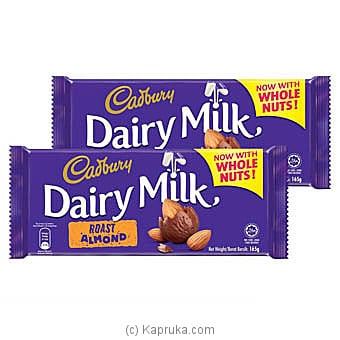 Cadbury Dairy Milk Roast Almond 165g Online at Kapruka | Product# chocolates00711