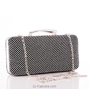 Black Crystal Ladies Clutch Online at Kapruka | Product# fashion00862