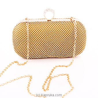 Glittery Ladies Gold Clutch Online at Kapruka | Product# fashion00865