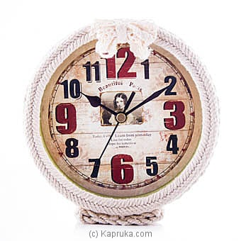 Stylish Vintage Clock at Kapruka Online for specialGifts