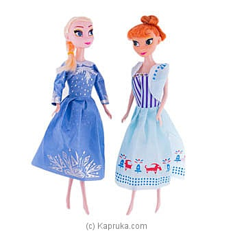Queen Elsa & Princess Anna at Kapruka Online for specialGifts