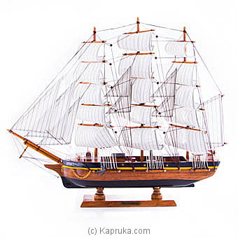 Wooden Sailing Boat at Kapruka Online for specialGifts