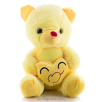Cuddly Teddy With Blowing A Kiss Emoji Online at Kapruka | Product# softtoy00520
