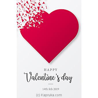 Valentine Greeting Card Online at Kapruka | Product# greeting00Z1691