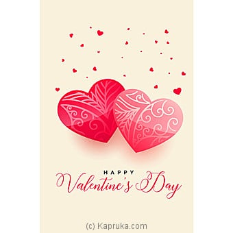 Valentine Greeting Card Online at Kapruka | Product# greeting00Z1687