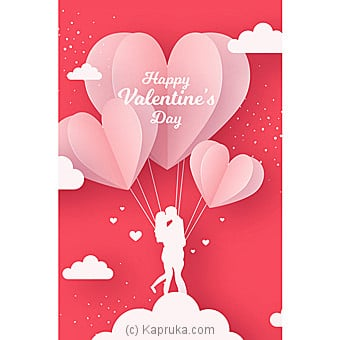 Valentine Greeting Card Online at Kapruka | Product# greeting00Z1684