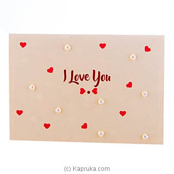I Love You Pop Up Greeting Card Online at Kapruka | Product# greeting00Z1695