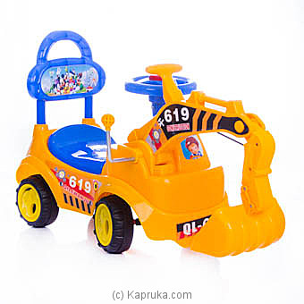 Toddler Ride On Excavator Online at Kapruka | Product# kidstoy0Z820
