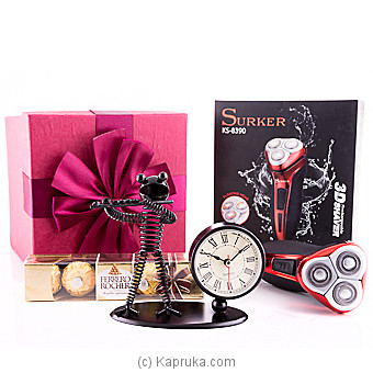 Say You Love Me- Gift Set For Him Online at Kapruka | Product# giftset00157