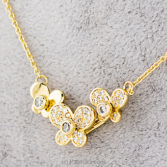 Flower Stone Pendant With Necklace  Online at Kapruka | Product# jewllery00SK633
