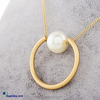Pearl Pendant With Necklace Online at Kapruka | Product# jewllery00SK638