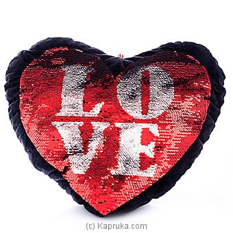 Filled With Love Glittery Pillow Online at Kapruka | Product# softtoy00549