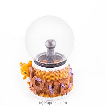 Magical Moment Plasma Ball With Teddy Online at Kapruka | Product# ornaments00583