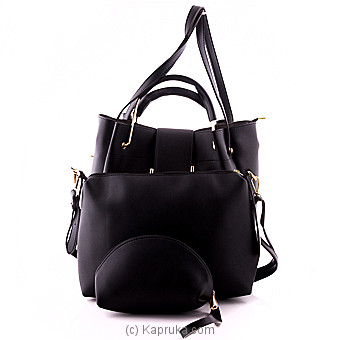 Classic Black Ladies Handbag at Kapruka Online for specialGifts