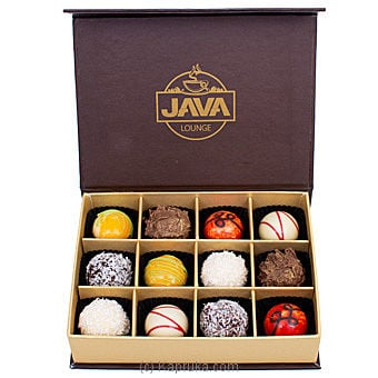 Assortment Of Truffles- 12 Piece(java) Online at Kapruka | Product# chocolates00754