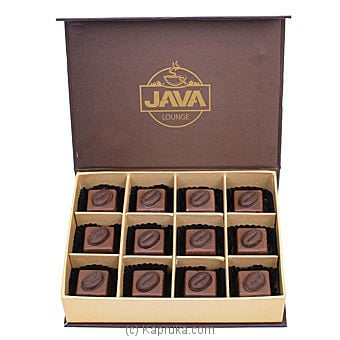 Milk Coffee Crème Chocolate Box-12 Piece(Java) at Kapruka Online