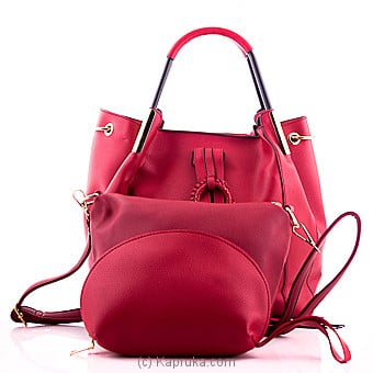 Superlative Red Ladies Handbag  Online at Kapruka | Product# fashion00968