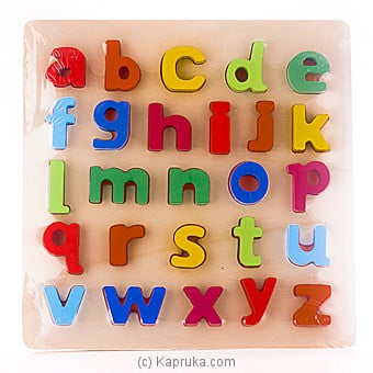 Alphabet Puzzle at Kapruka Online for specialGifts