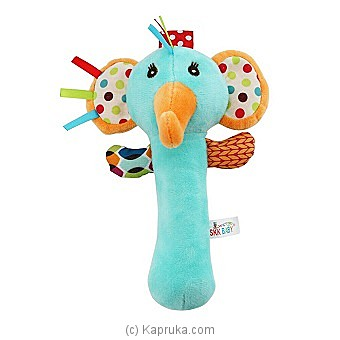 Squeeze Me Hand Rattle -elephant Online at Kapruka | Product# babypack00313