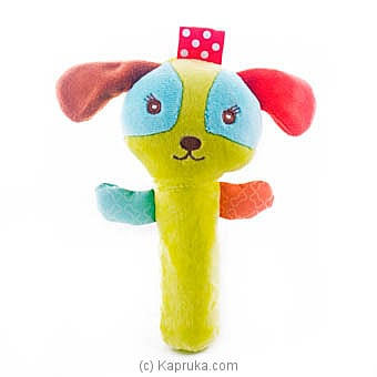 Squeeze Me Hand Rattle - Puppy Online at Kapruka | Product# babypack00318