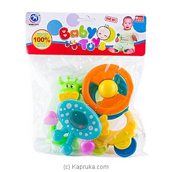 Infant Rattle 5 Piece Set Online at Kapruka | Product# babypack00325