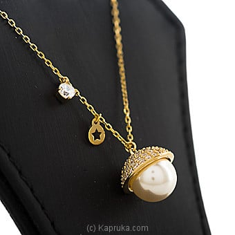 Pearl Pendant With Necklace By Swarovski at Kapruka Online forspecialGifts