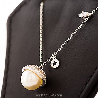 Pearl Silver Pendant With Necklace By Swarovski at Kapruka Online forspecialGifts