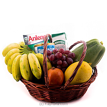 Healthy Dad Fruit With Nutritions Hamper Online at Kapruka | Product# fruits00138