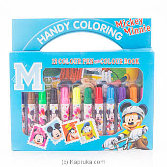 Mickey Mouse Coloring Pen Box Online at Kapruka | Product# childrenP0402