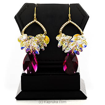 Swarovski Color Ear Stud Online at Kapruka | Product# jewllery00SK704