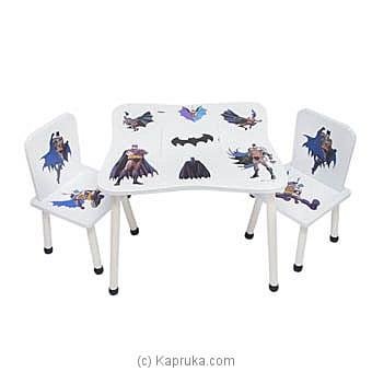 Batman Table And Chair Set Online at Kapruka | Product# childrenP0408