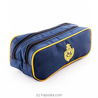 Royal College Double Zip Pouch Online at Kapruka | Product# schoolpride00119