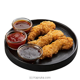 Chunky Chicken Strips 3pcs Online at Kapruka | Product# DOMINOS00147