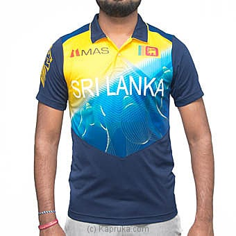 Polyester Replica Of The Sri Lanka Cricket Jersey Small Online at Kapruka | Product# clothing0615_TC1