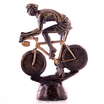 Racing Cyclist Bicycle Sculpture Online at Kapruka | Product# ornaments00614