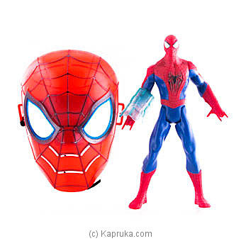 Spider Man Action Figure With Face Mask Online at Kapruka | Product# kidstoy0Z850