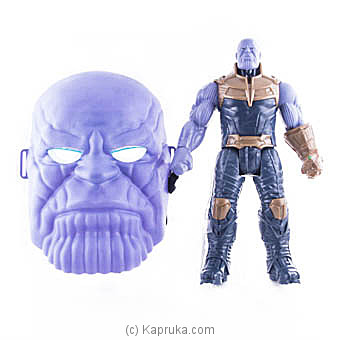 Thanos Action Figure With Face Mask Online at Kapruka | Product# kidstoy0Z852