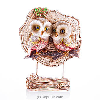 Romantic Owl Couple Table Ornament at Kapruka Online for specialGifts
