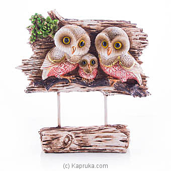 Owl Family Ornament Online at Kapruka | Product# ornaments00626
