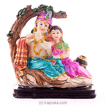 Lord Radha Krishna Table Ornament Online at Kapruka | Product# ornaments00622