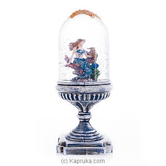 Lighted Mermaid Water Globe Dome Online at Kapruka | Product# ornaments00639