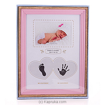Ultimate Baby Girl Foot And Hand Print Frame at Kapruka Online for specialGifts