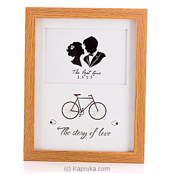 The Story Of Love Picture Frame Online at Kapruka | Product# ornaments00646