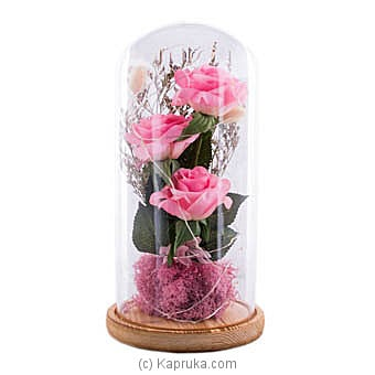 Eternity Rose Dome Online at Kapruka | Product# ornaments00631